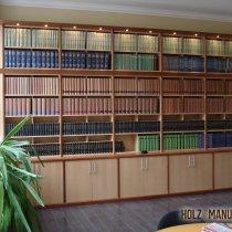Bücherwand