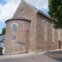 Kirchenfenster einfachverglast mit Kittfuge
